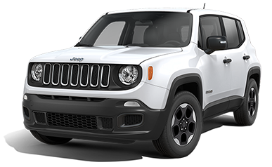 White Jeep Renegade Sport