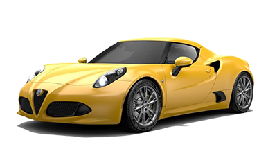 Alfa Romeo 4c Yellow