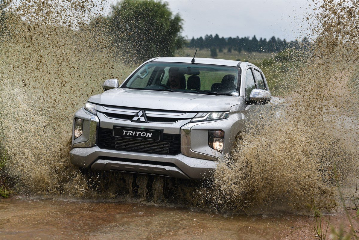 NEW MITSUBISHI TRITON TOUGHENS UP
