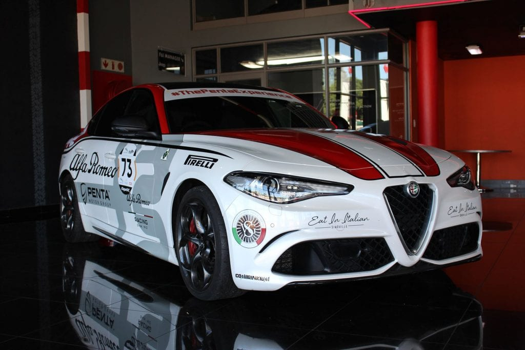 Alfa Romeo on the hunt to become king of the Simola Hillclimb