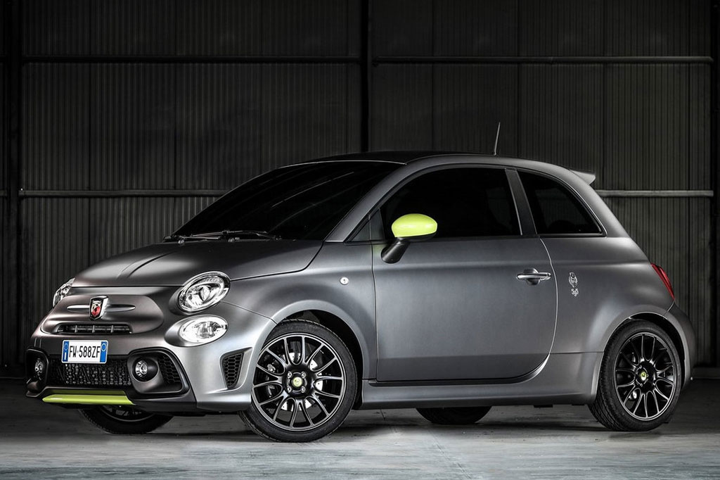 Cargo Motors Bedfordview New Fiat 595 Abarth Pista Side